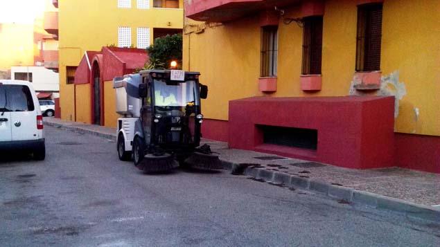 La colonia ha sido el objetivo de limpieza intensiva este - Trabajos de limpieza en casas particulares ...